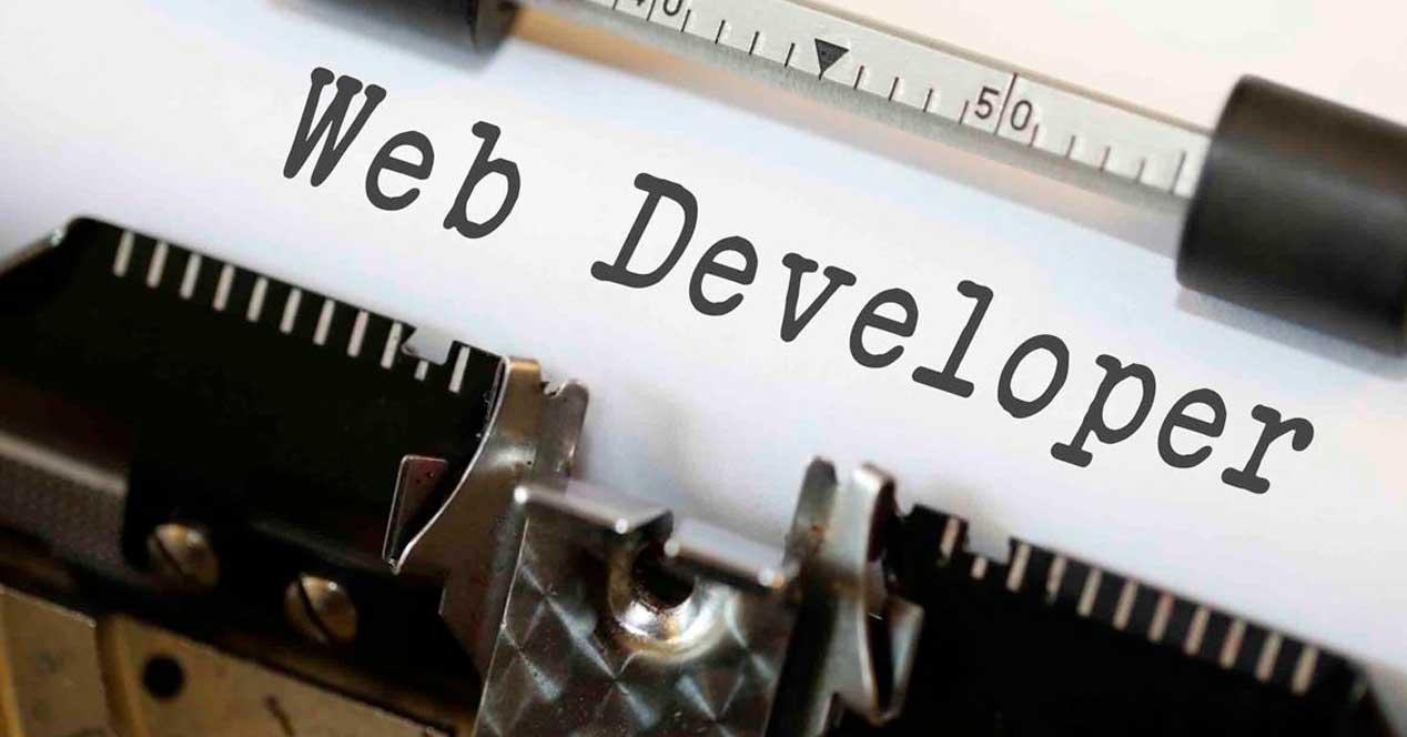 Desarrollador web