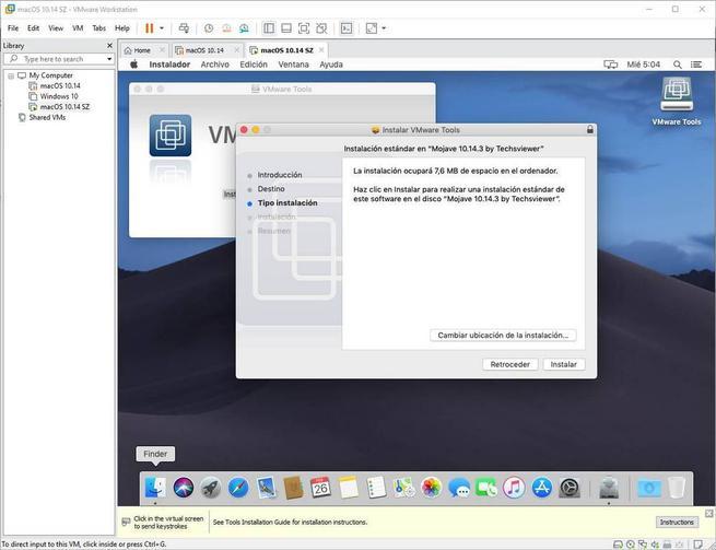 Instalar VMware Tools en macOS - 4