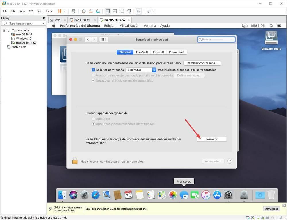 Instalar VMware Tools en macOS - 7