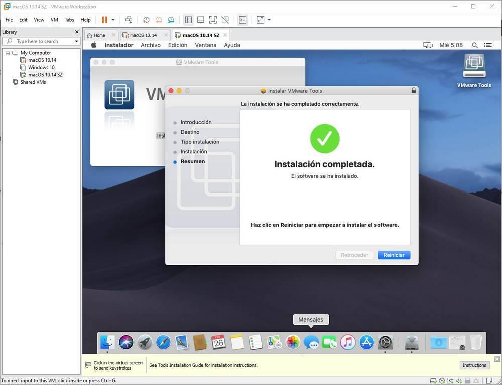 Instalar VMware Tools en macOS - 8