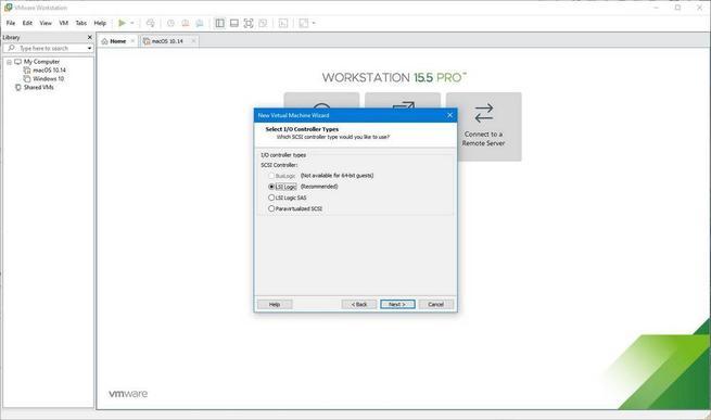 Máquina virtual de macOS en Windows 10 con VMware - 10