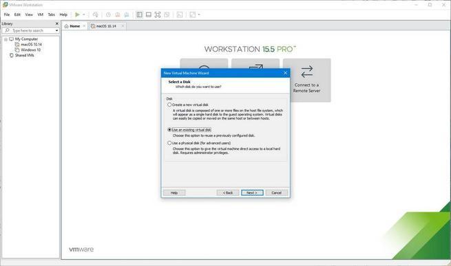 Máquina virtual de macOS en Windows 10 con VMware - 12
