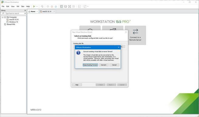 Máquina virtual de macOS en Windows 10 con VMware - 14
