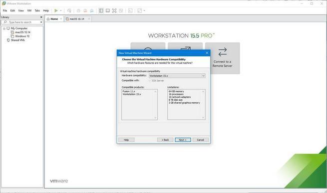 Máquina virtual de macOS en Windows 10 con VMware - 3