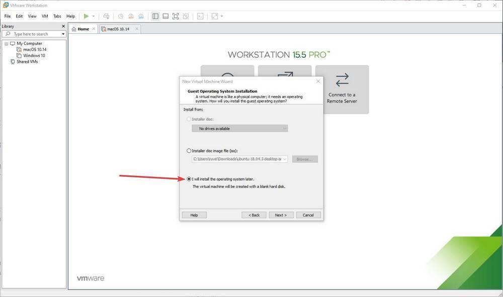 Máquina virtual de macOS en Windows 10 con VMware - 4