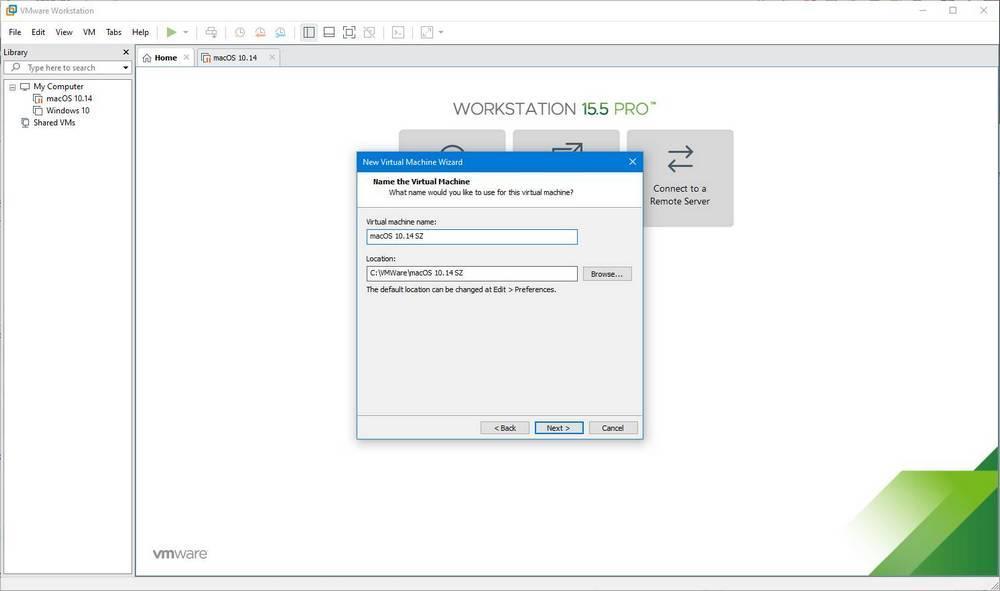 Máquina virtual de macOS en Windows 10 con VMware - 6
