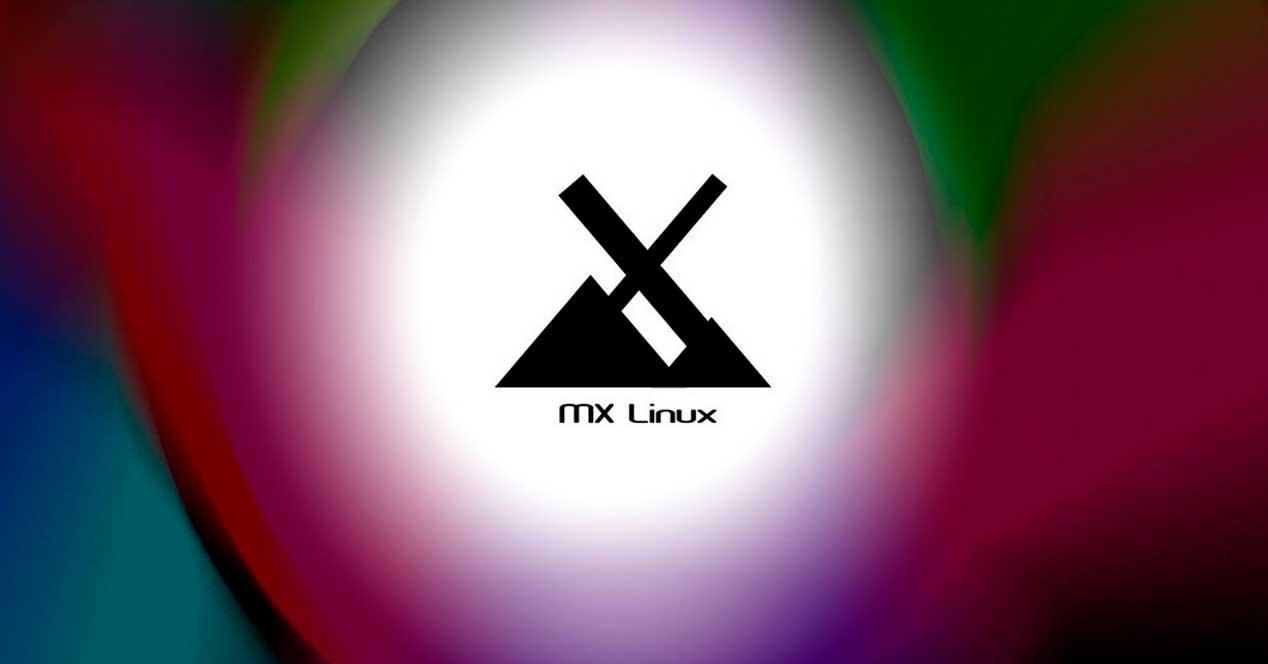 MX Linux con fondo
