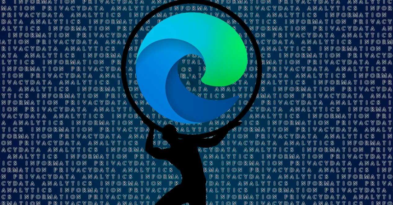 Privacidad MS Edge Chromium