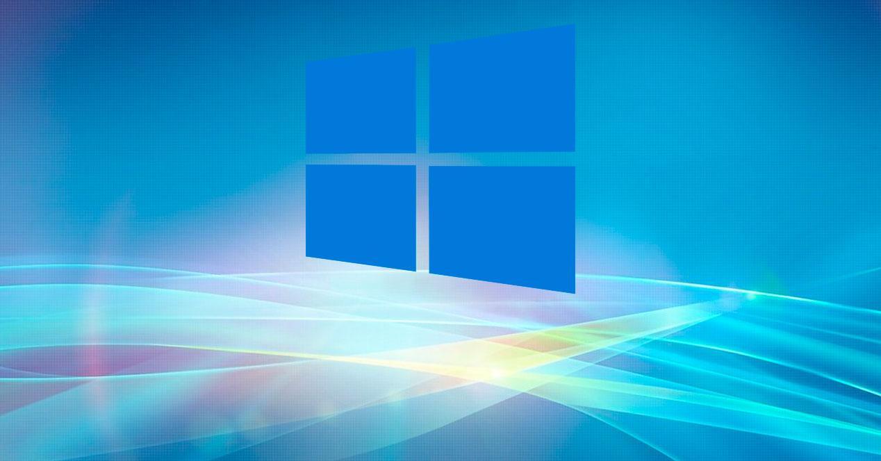 Windows 10 logo oscuro