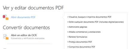 Editar PDFs Abbyy FineReader