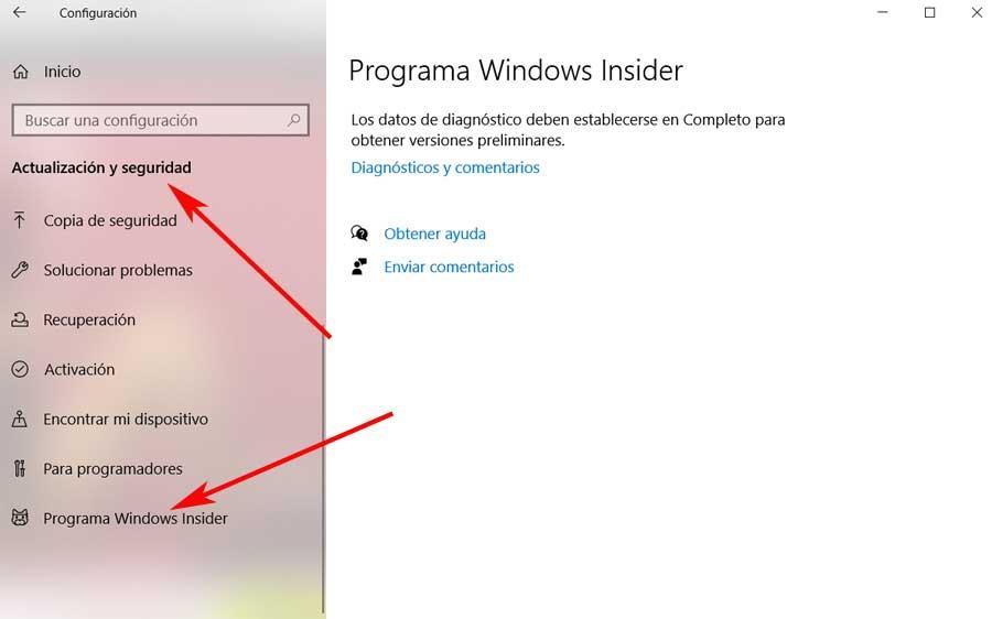 Insider windows