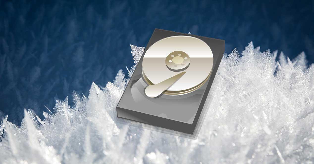 Congelar unidades disco