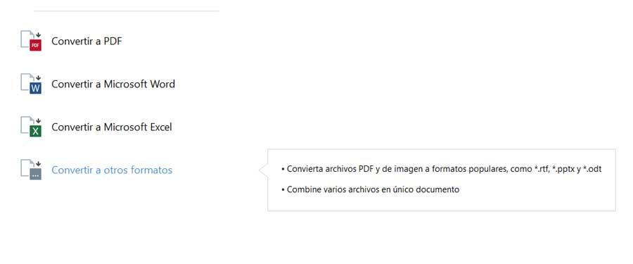 Convertir PDF