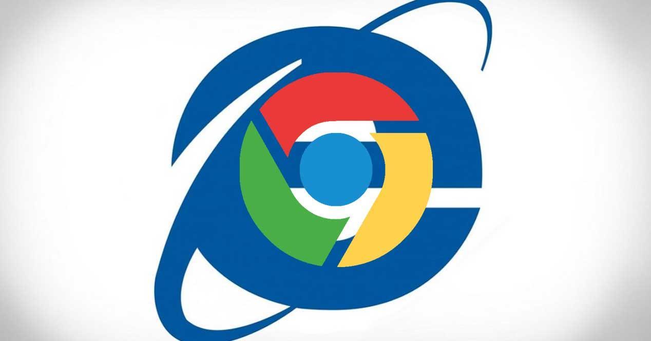Internet explorer Chrome