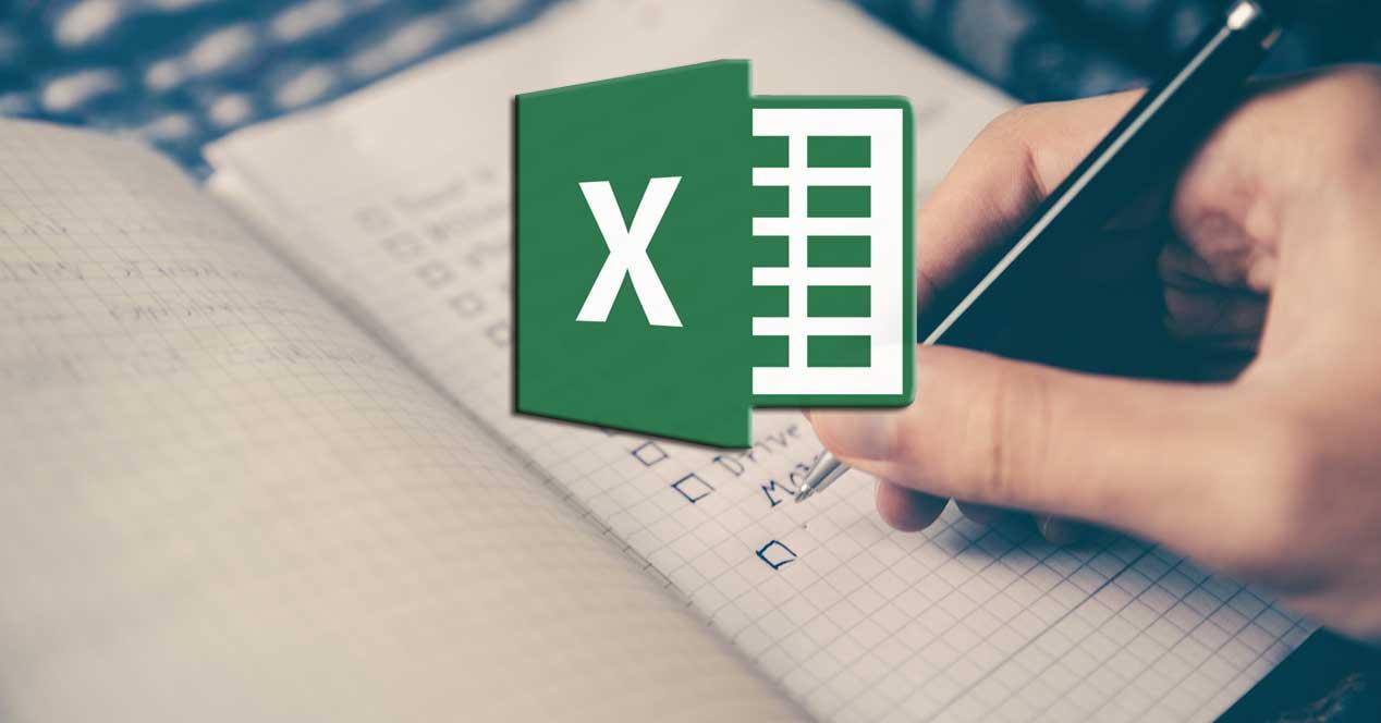 Crear listas en Excel