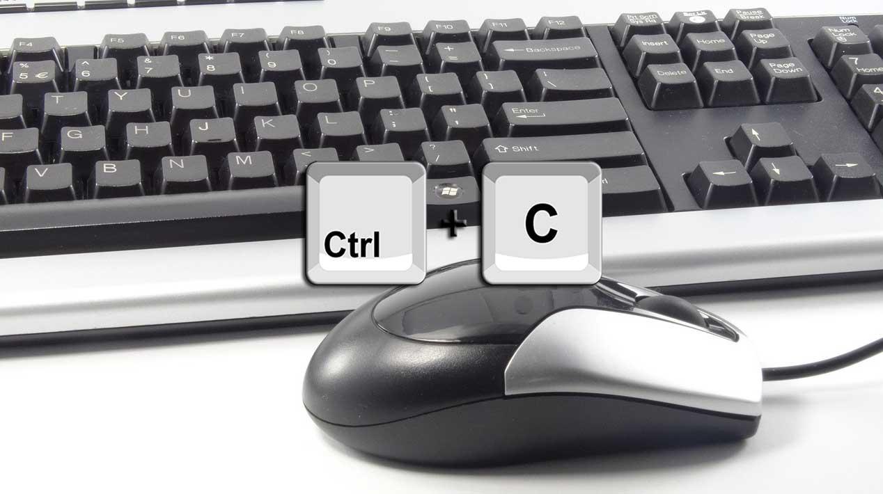 Copiar con raton