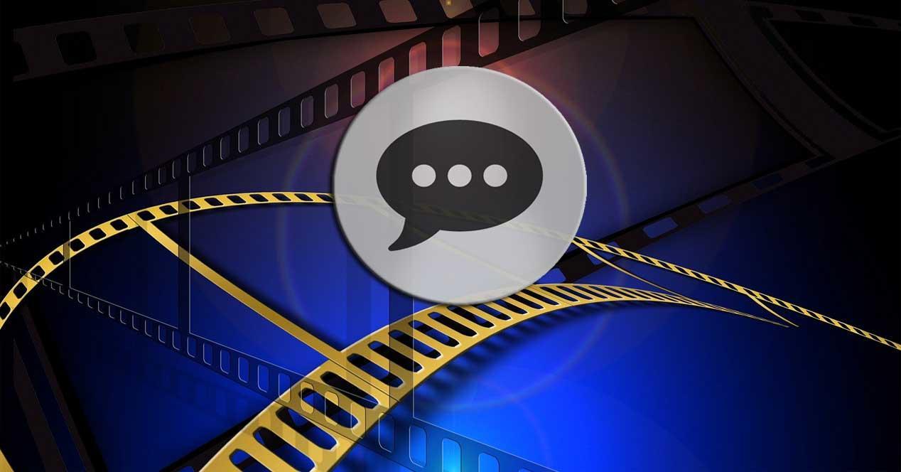 Subtitulos videos windows
