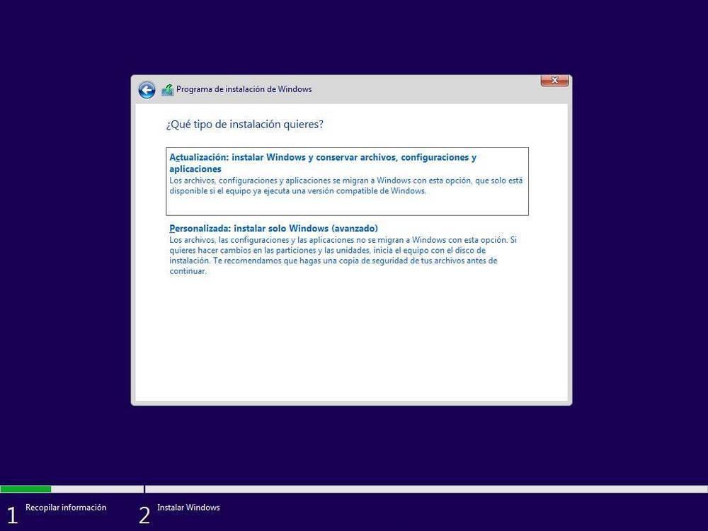 Actualizați sau instalați Windows 10 de la zero