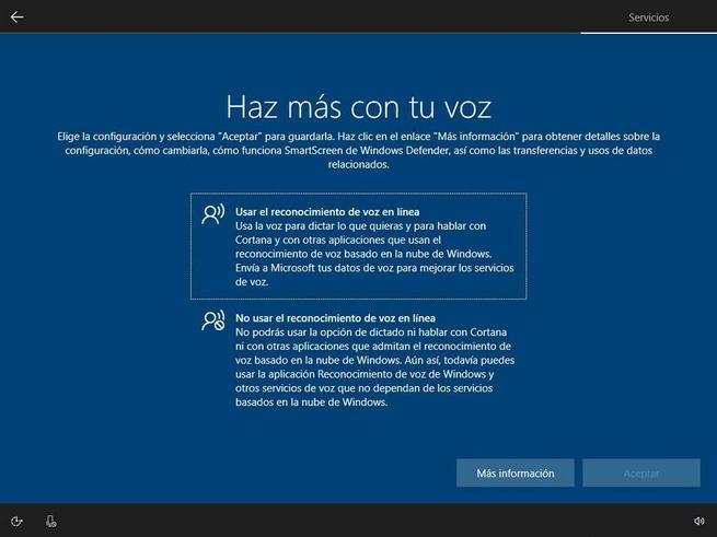 Instalați Windows 10 - Confidențialitate 1