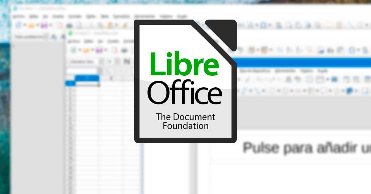 LibreOffice aplicaciones