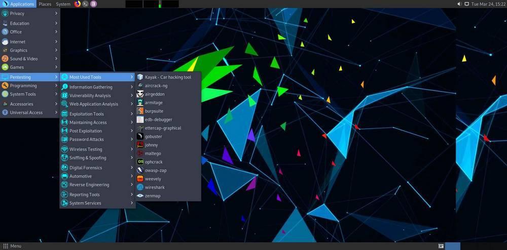 Parrot OS - Captura 2
