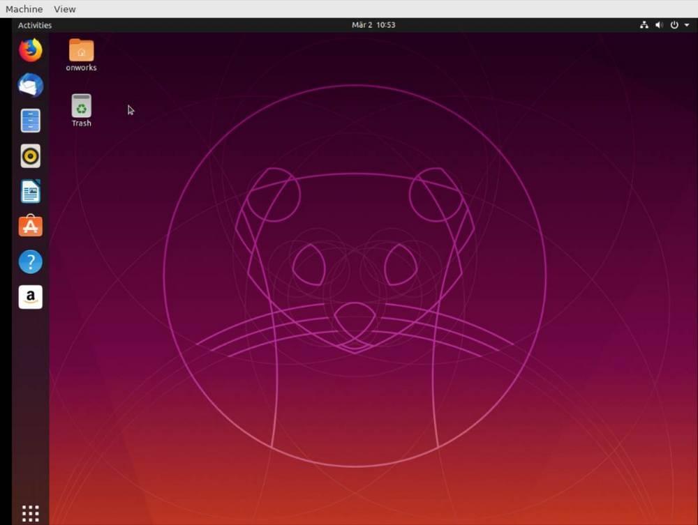 Ubuntu on OnWorks