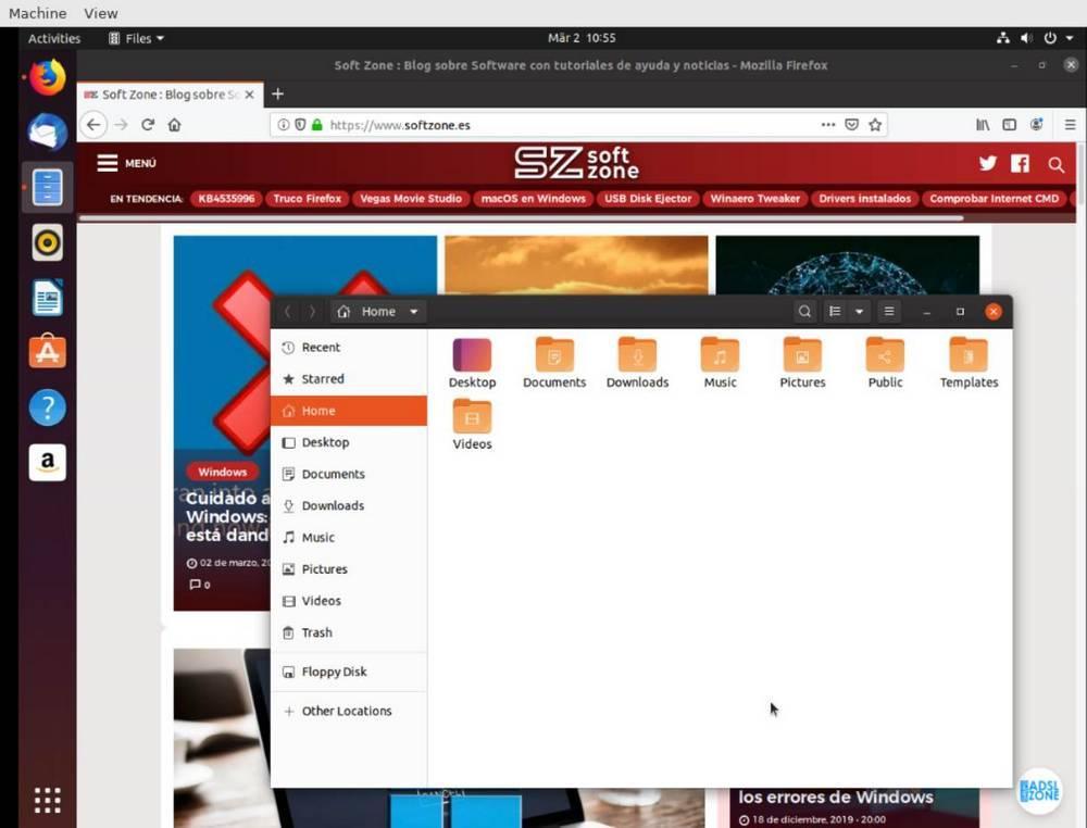 Usando Linux en OnWorks
