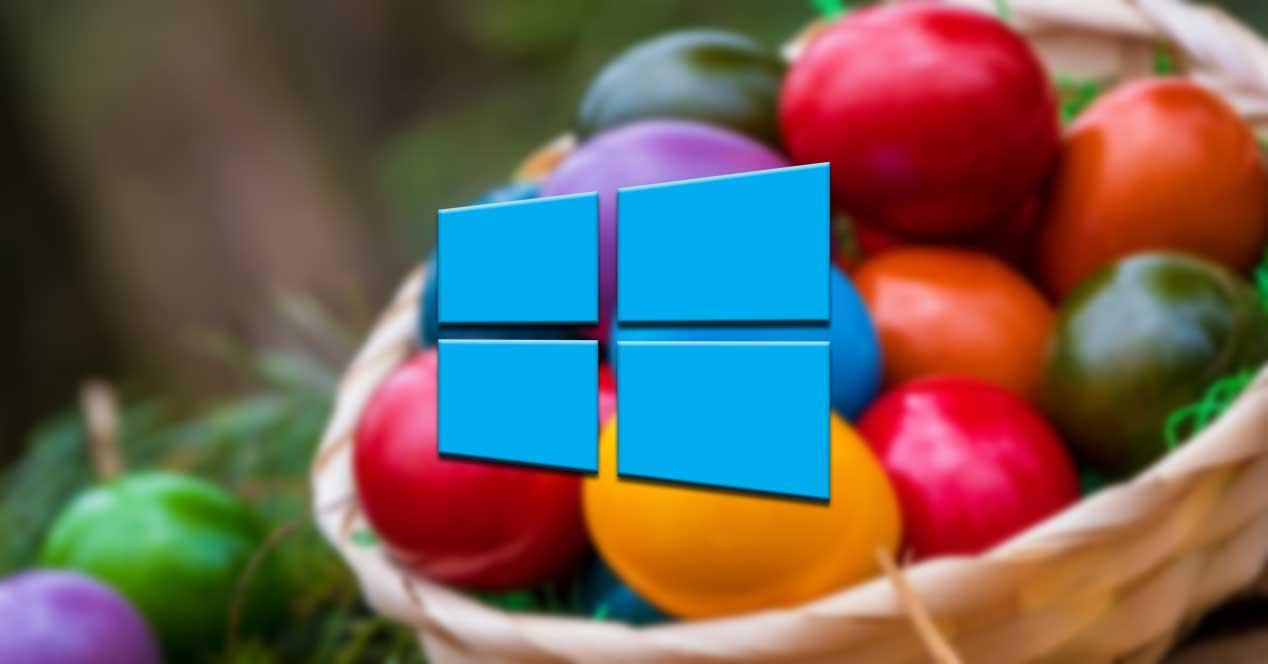 Huevos de pascua Windows 10