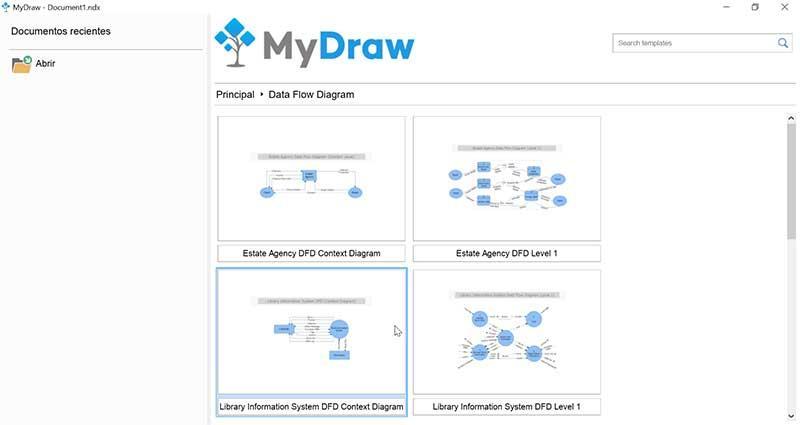 Флуджи данных MyDraw