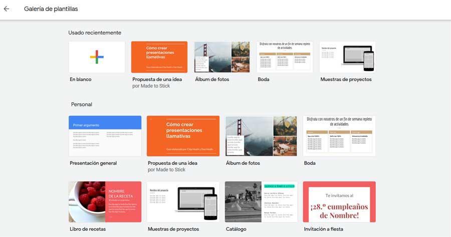 plantillas google presentaciones