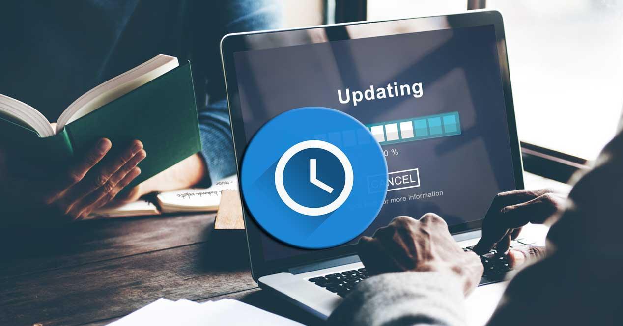 Ahorrar tiempo actualizaciones Windows