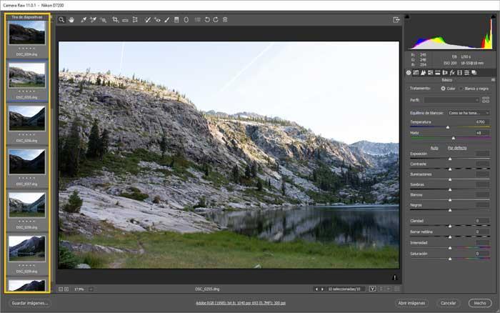 Camera RAW plugin para Photoshop