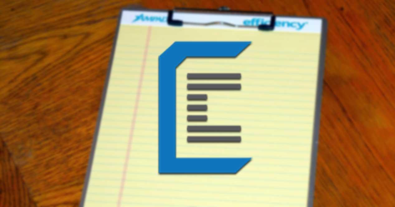 ClipClip administrador de portapapeles