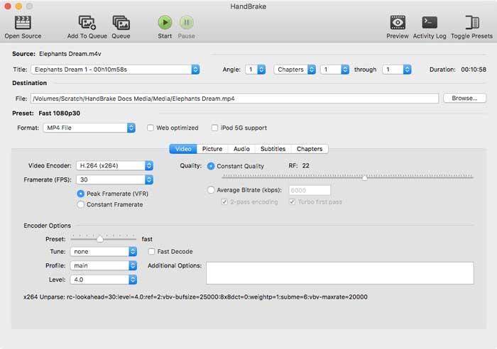 HandBrake ile dosyaları dönüştürün