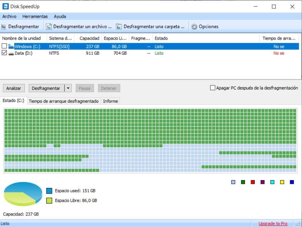 Disk SpeedUp Windows