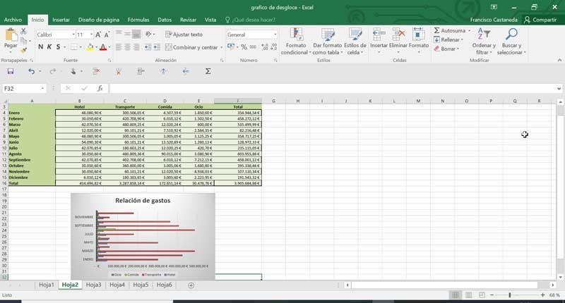 Excel para contabilidad