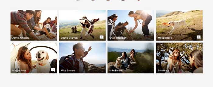 Google Foto's, organiseer afbeeldingen