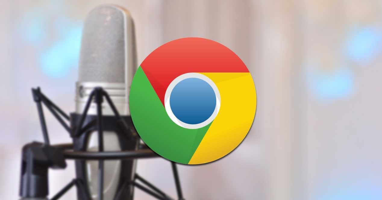 Grabar sonido con Chrome