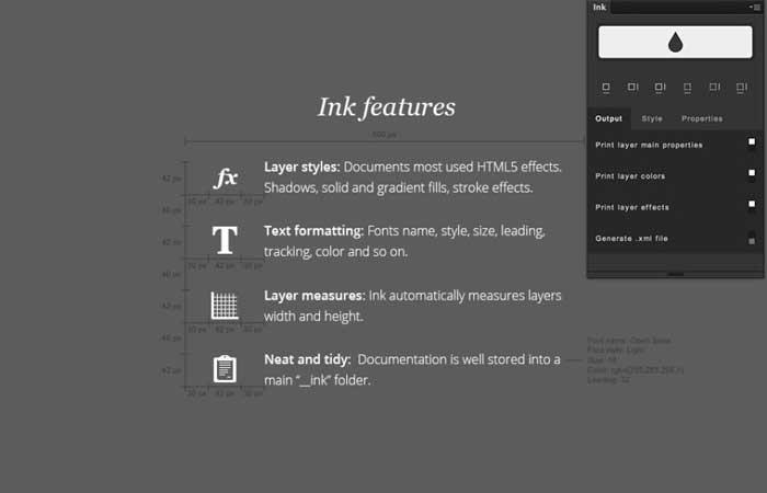 Ink plugin Photoshop