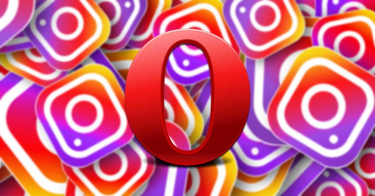 Instagram Opera