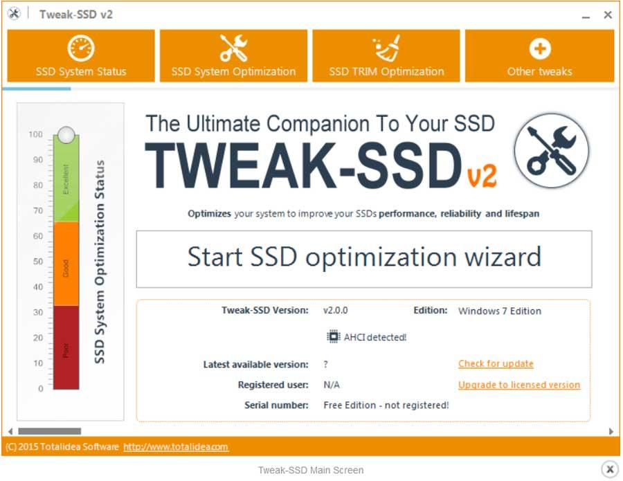 Tweak-SSD Windows