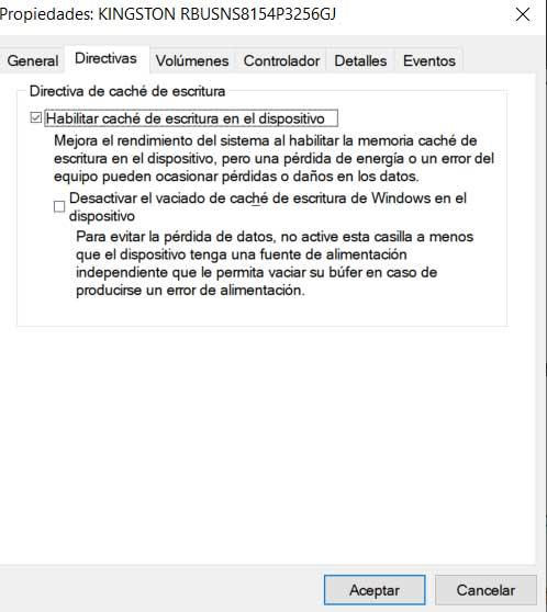 Habilitar cache Windows