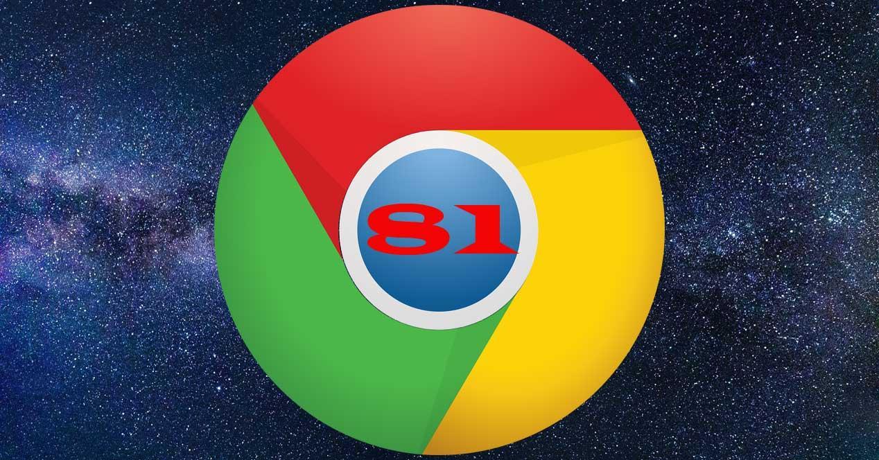 Chrome 81 espacio