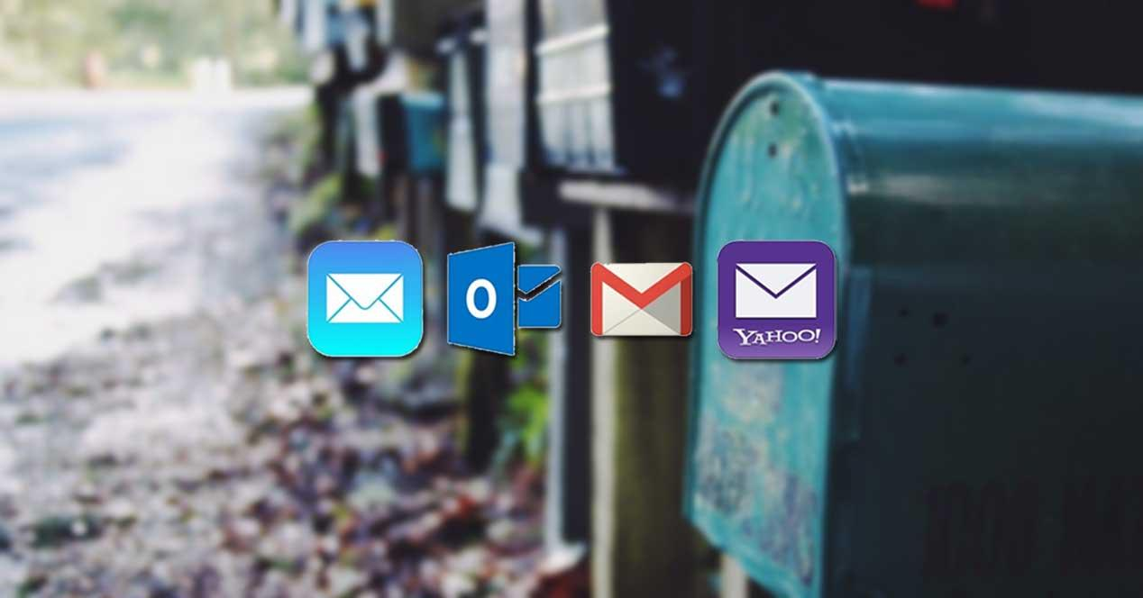 clientes de correo electrónico