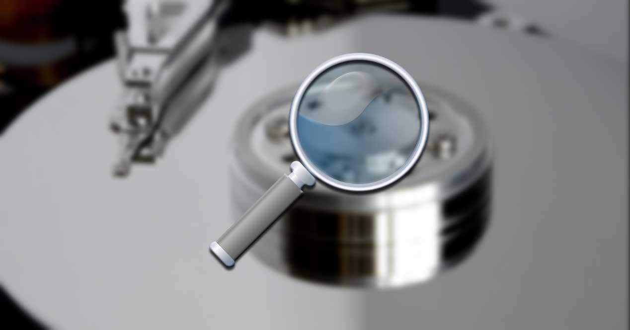 Disco duro ocultos