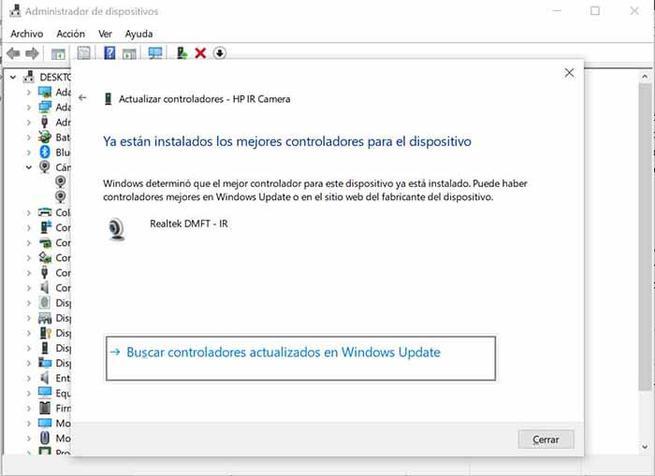 drivere camara actualizate în Windows 10