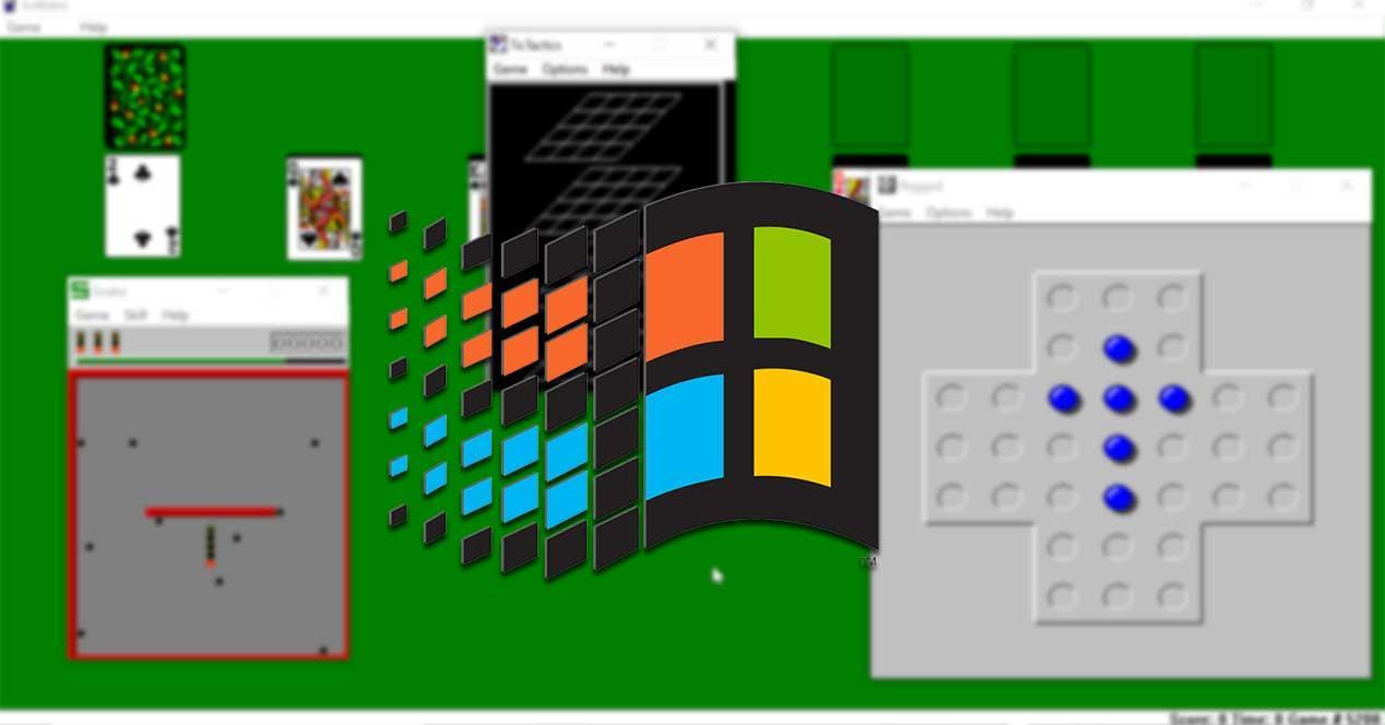 Listado de juegos clásicos de Windows