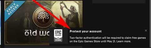 proteger cuenta epic