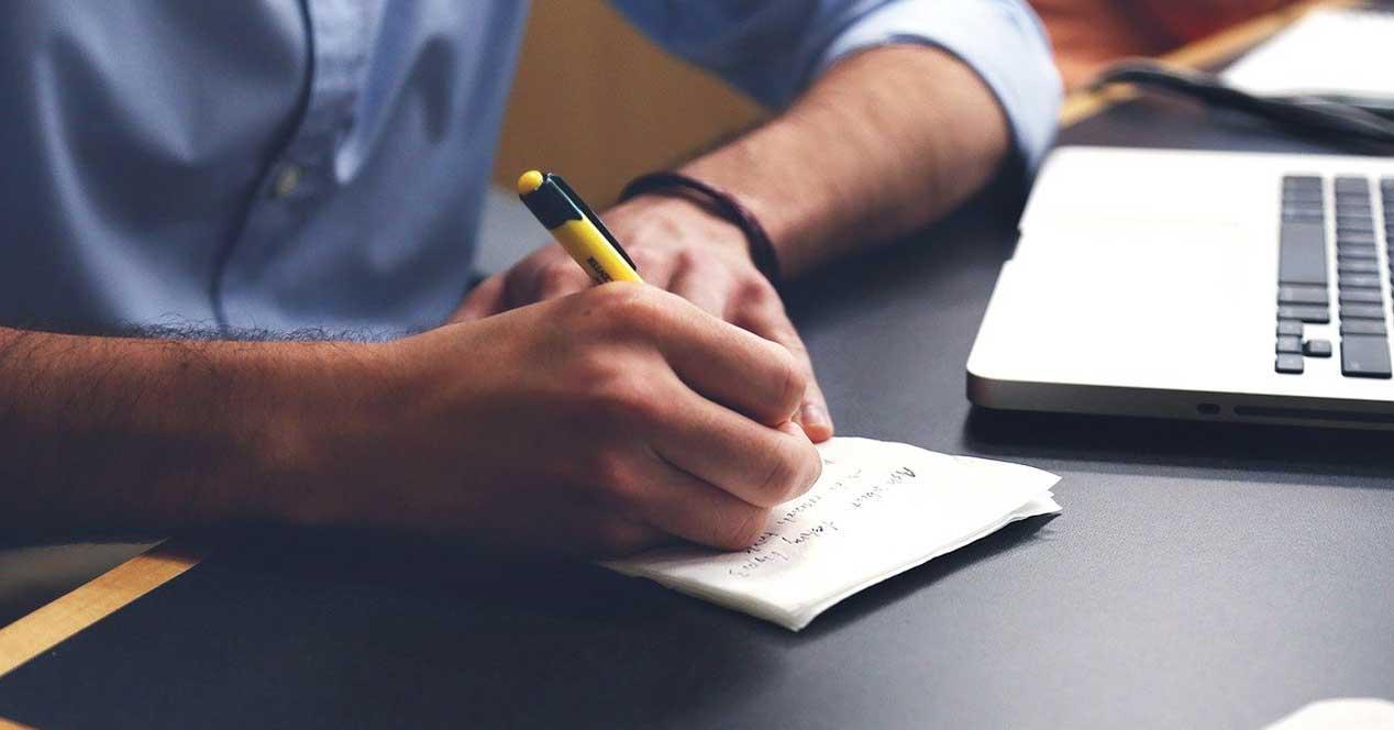 Alternativas a OneNote para escribir notas