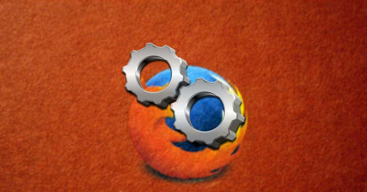 Configuracion de Firefox